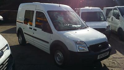 13 PLATE Ford Connect 1.8TDCi ( 90PS ) High Roof Crew Van T230 LWB NO VAT