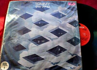 The Who - Tommy Vol 1 & 2 - Rare Cover And Record Different Order - Uruguay