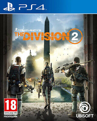 Videogames The Division Ii 2 Playstation 4 Ps4  Ita Standard Edition Preorder