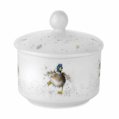 Wrendale by Royal Worcester Sugar Pot - Guard Duck