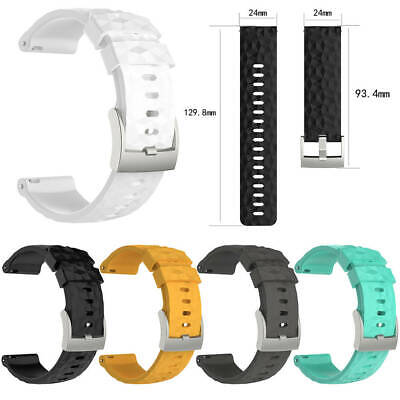 Replace Silicone Wrist Strap for Suunto Spartan Wrist HR Baro Amber Watch Smart