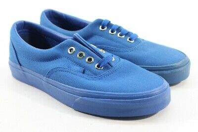 a1c5ef608b Vans Unisex Era Gold Mono Nautical Blue Skate Shoes 5M Men s 6.5M Women s