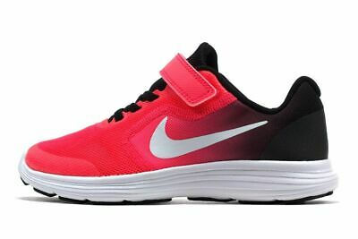 low priced e7729 6d121 Nike Revolution 3 (Psv) Girl s Youth Shoes 819417 002 New In Box Size 13C