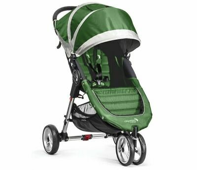 Baby CITY Mini 3 Evergreen/Grey Jogger Single Seat Stroller