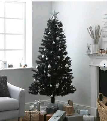 Black Lapland Pine Artificial Christmas Xmas Tree 6ft 183cm