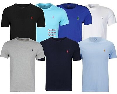 Men's Ralph Lauren Polo Crew Neck Short Sleeve T-shirts: S to 2XL
