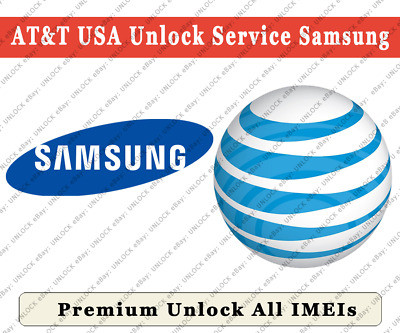 UNLOCK AT&T Samsung All Models with S10/S10+/Note 8/Note 9 etc. PREMIUM NCK Only