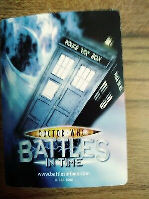 250 Dr Who battles in time common and rare trading cards