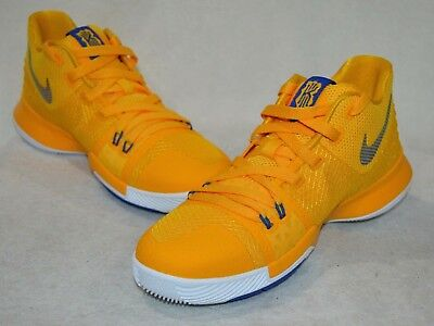 0388c1df76f 2017 NIKE KYRIE 3 Mac And Cheese University Gold GS 6Y 6.5Y Youth DS ...