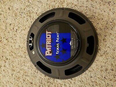 "Eminence Patriot Texas Heat 12/"" Guitar Speaker 8ohm 150W RMS 99dB Replacement"