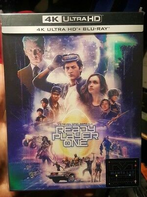 Ready Player One Manta Lab Exclusive Full Slip Edition (Blu-ray + 4K UHD) NEW!!