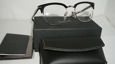 8a88bb9fbe1 BRAND NEW PERSOL 3132-V 95 Black Fold Able Eyeglasses Authentic ...