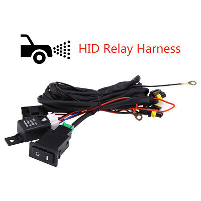 CAR XENON HID Conversion Kit Light Relay Wiring Harness 9006 9005 H1 on s10 wire harness, c3 wire harness, h22 wire harness, c5 wire harness, hummer wire harness, h4 wire harness, body wire harness, h11 wire harness, ul wire harness,