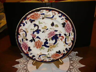 "Antique Mason's Ironstone Made In England ""Mandalay"" Printed/Hand Painted Plate"