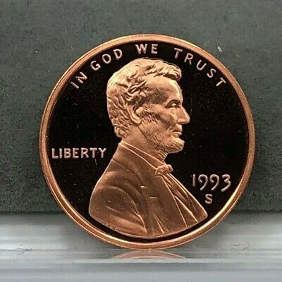 1993-S 1c Lincoln Cent Penny Proof Coin