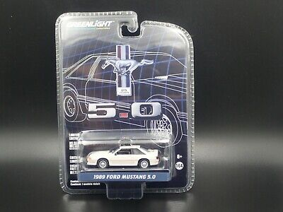 Greenlight 1989 Ford Mustang 25 Years 5.0 Anniversary Series 1:64 Scale Car