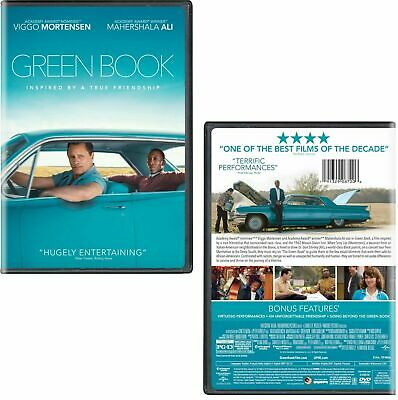 Green Book Greenbook  (Dvd 2018) (Dvd 2019) Usa Seller Free Shipping