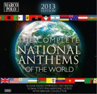 The Complete National Anthems of the World CD / Box Set NEU