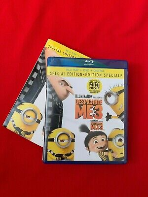 Despicable Me 3 (Blu-ray + DVD + Digital, Bilingual)