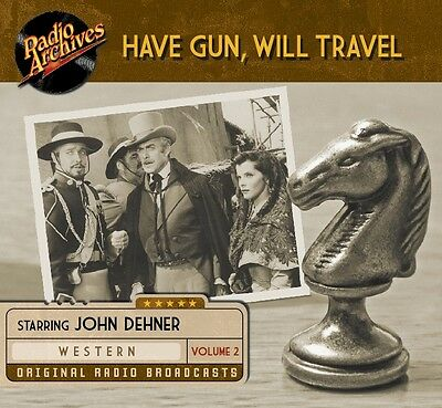 Have Gun Will Travel  Old Time Radio Shows CD 106 episodes + Free Sampler CD