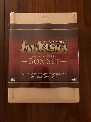 InuYasha - The Movie: Box Set (DVD, 2007, 4-Disc Set, Deluxe Edition) New Sealed