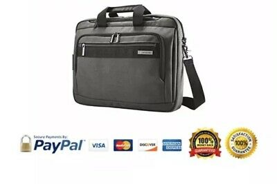 "NEW Samsonite Modern Utility GT Laptop Briefcase 15.6"" - Gray - 91743-1176"