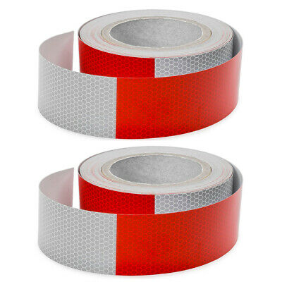 """2 Roll Conspicuity Tape 2""""x150' DOT-C2 Approved Reflective Safety Truck Trailer"""