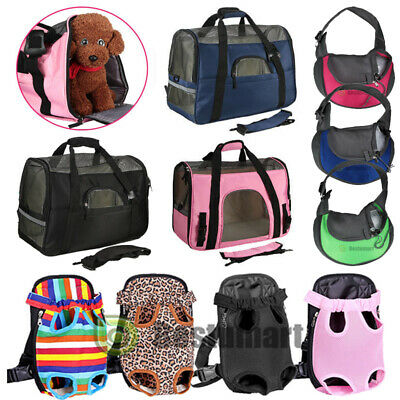 Pet Carrier Soft Sided S/L/XL Cat/Dog Comfort Travel Bag Oxford Airline Approved