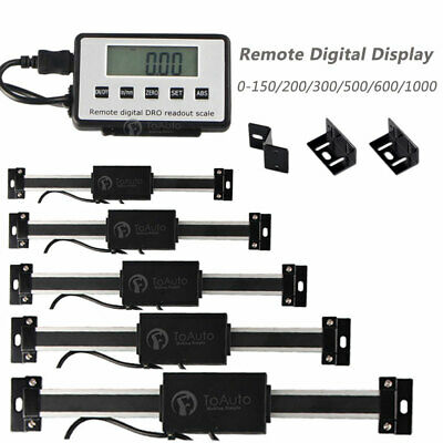 Digital DRO Readout Linear Scale DRO Remote Display Milling Lathe Measure Tool