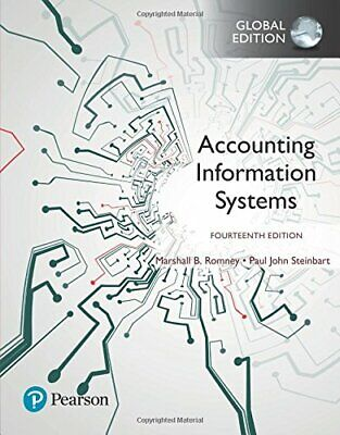 Accounting Information Systems 14E by Marshall B. Romney ( ISBN:9781292220086)