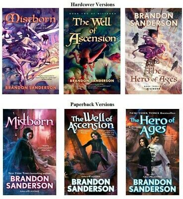 Mistborn Audiobook Collection 1-6 (Mp3, Download) by Brandon Sanderson