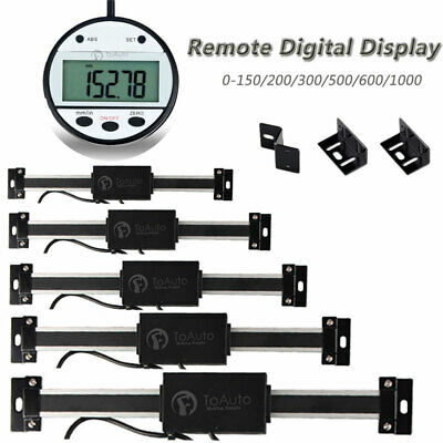 DRO Digital Readout Milling Lathe Tool Linear Scale Magnet Remote Display CNC