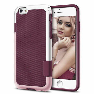 Shockproof Hybrid Rugged Soft TPU Phone Case Cover For iPhone 6S 7 8 Plus