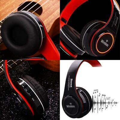 LED Bluetooth Headset Foldable Headphone With Mic For PC Mobile Phone OK