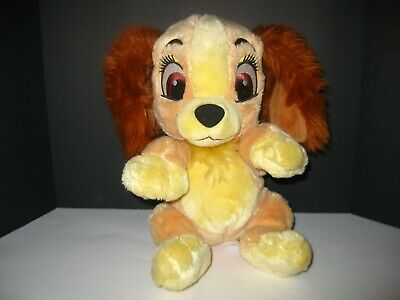 "Disney Parks Disney Babies Lady and the Tramp Lady Plush Stuffed Animal 9"" -Gift"