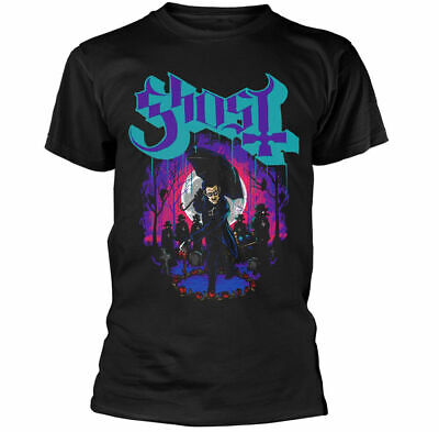 Ghost Ashes Shirt Tee size M-3XL US Official T-Shirts Metal Rock Band 100% coton