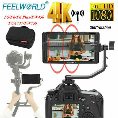 Feelworld F5/F6/F6 plus 5inch Ultra Slim IPS 1920x1080 4K Video Monitor fr DSLR