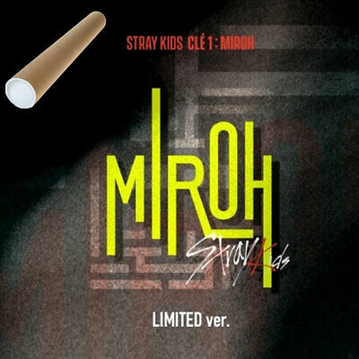 스트레이 키즈 | STRAY KIDS [ Clé 1 : MIROH ] LIMITED EDITION+POSTER