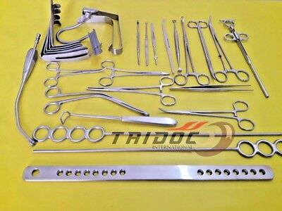 Tonsillectomy Set of 27 pcs Surgical Instruments A+ Grade Best Quality
