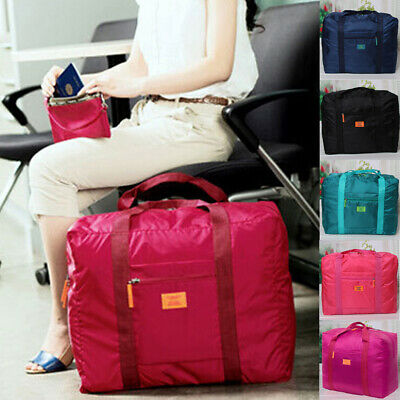 AU Foldable Travel Storage Luggage Carry-on Clothes Organizer Pouch Duffle Bag