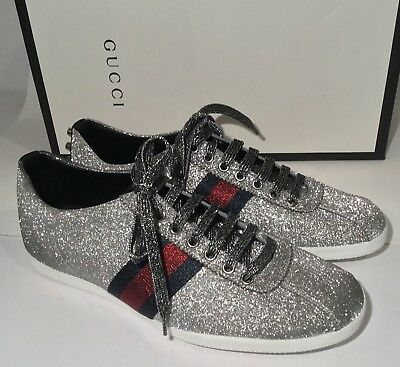 1ba3ddc50ac MENS GUCCI NEW Ace Leather Sneakers With Fur Size 8.5 M -  529.99 ...