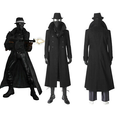 cc02f37d35e SPIDER-MAN INTO THE Spider-Verse Spider-Man Noir Cosplay Costume Men Outfit