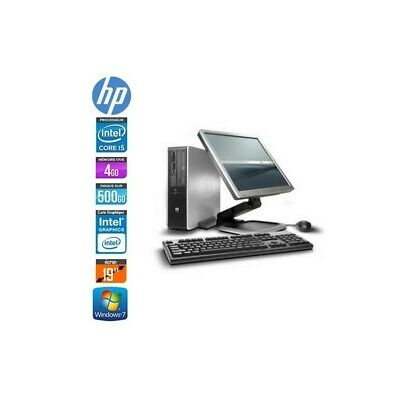 Pack Hp Elite 8100 Sff + Lcd 19""