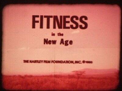 Fitness In The New Age 1980 16mm short film Documentary Elda Hartley