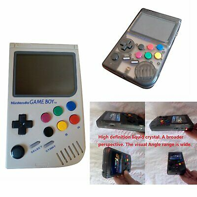 HANDHELD RETRO GAME Console LCL Raspberry Pi3B GameBoy Video Games 64G SD  card