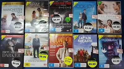 Quality Ex-Rental DVD's Assorted Drama Titles