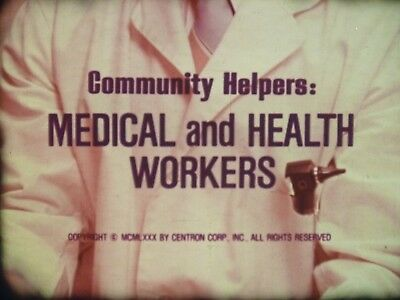 Community Helpers: Medical And Health Workers 16mm short film 1980