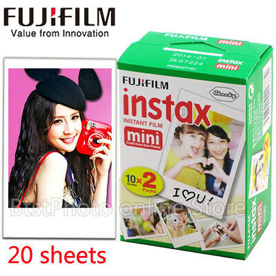 FUJIFILM INSTANT COLOR FILM 20 Sheets for Fujifilm Instax Mini Series Cameras