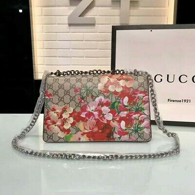 2937b392dc GUCCI DIONYSUS MEDIUM Shoulder Bag in Black Leather. Style 400235 ...