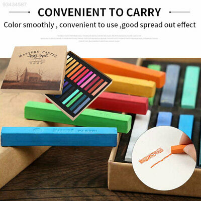 D847 Chalk Color Crayon Multifunctional Smooth Art Pastels Writing Art Supplies